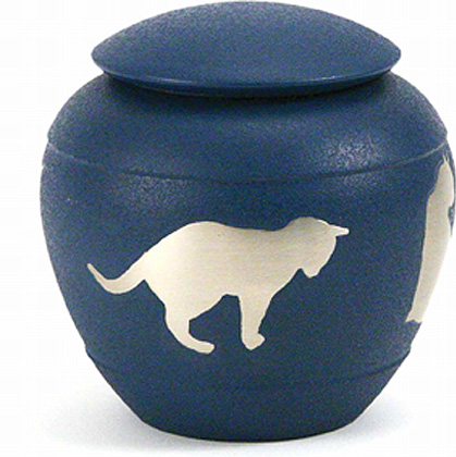 Silhouette Cat Country Blue (0.5 liter)