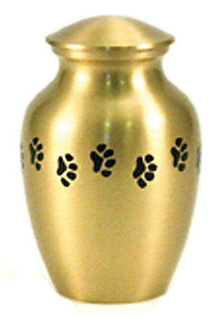 Classic Paws Brass Dierenurn Large (1.5 liter)