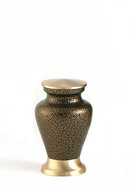 Glenwood Vintage Bronze Mini Urn (0.08 liter)