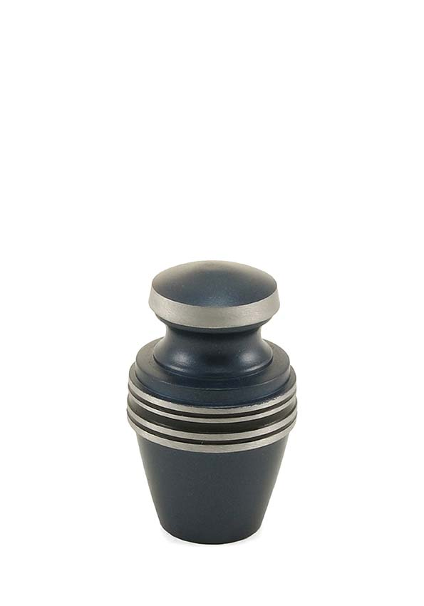 Grecian Blue Mini Urn (0.08 liter)