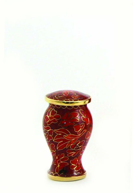 Etienne Autumn Leaves Cloisonne Mini Dierenurn (0.11 l.)