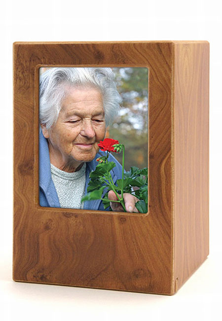 Grote MDF Photobox Urn Berk (3.5 liter)