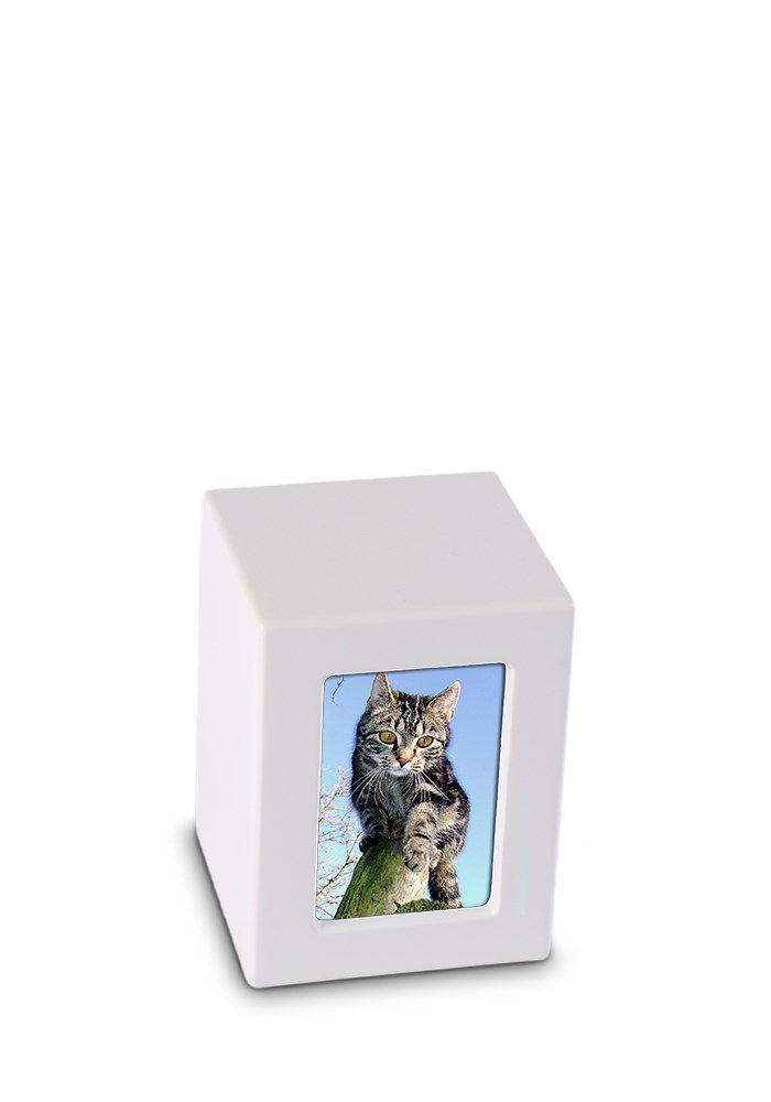Mini MDF Photobox Urn Matwit (0.5 liter)