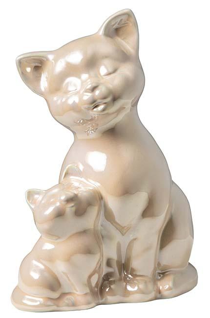 Katten Urn of Asbeeld Zachtroze (0.55 liter)