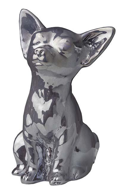 Honden Urntje of Asbeeldje Antraciet (0.3 liter)
