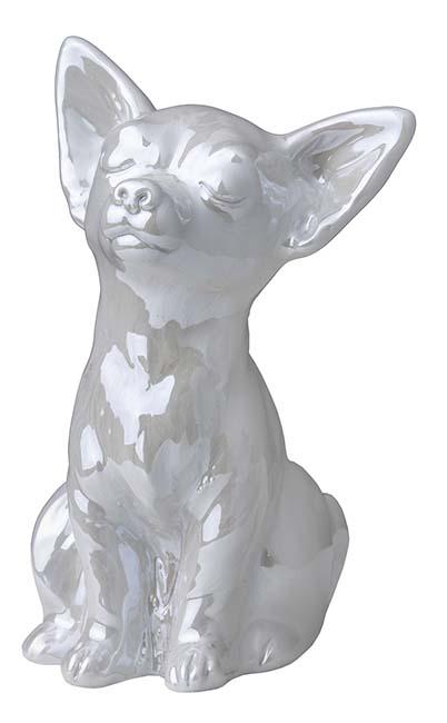 Honden Urntje of Asbeeldje Wit (0.3 liter)