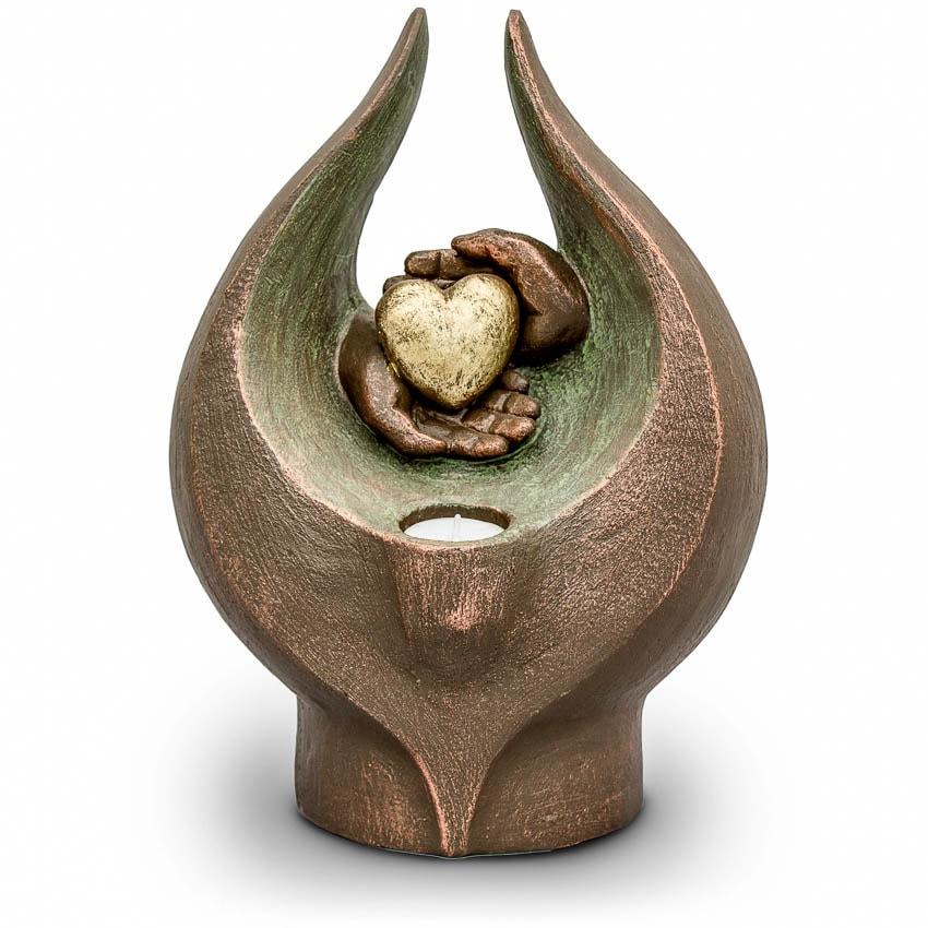 Grote Keramische Art Urn Verlichte Gevoelens (3.5 liter)