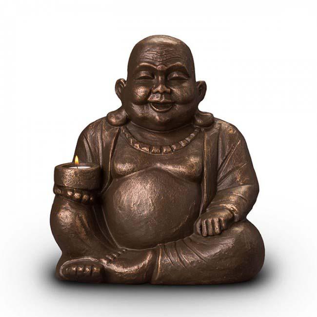 Art Dierenurn Verlichte Boeddha (4 liter)