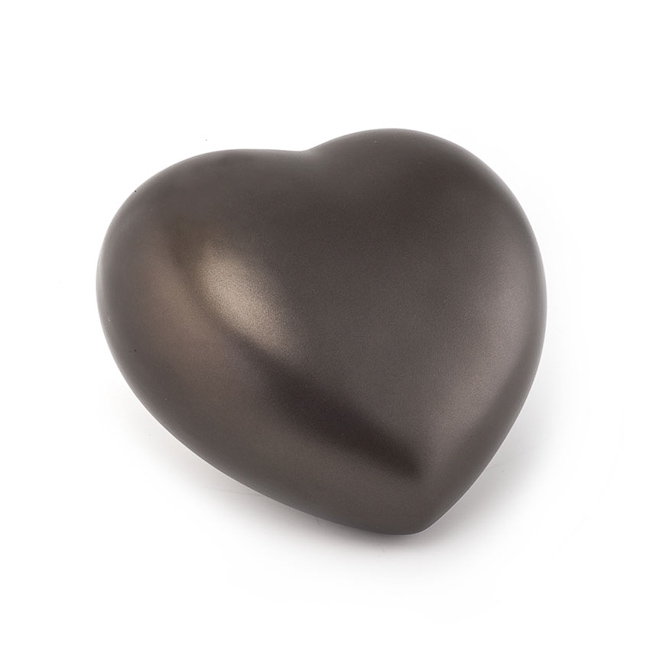 Middelgrote Dieren Hart Urn Chocolade (1.5 liter)