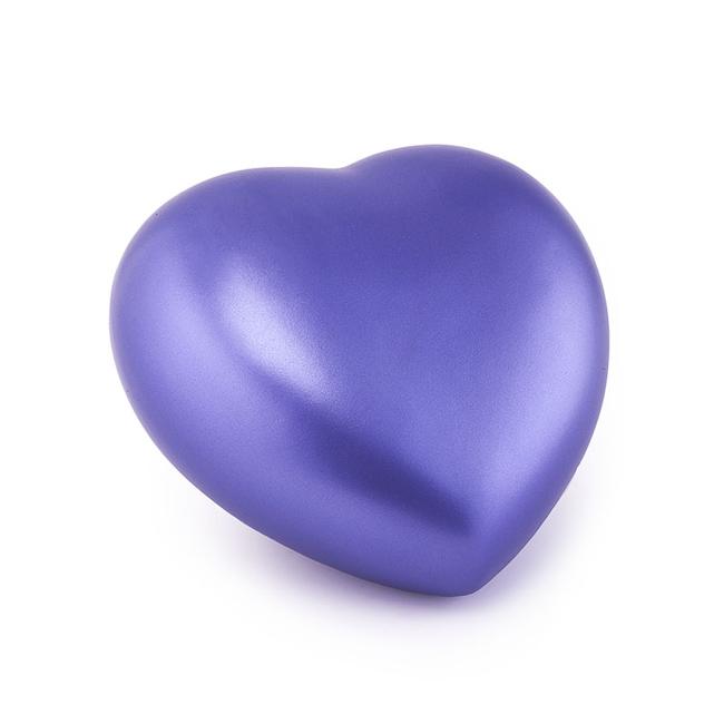Middelgrote Dieren Hart Urn Violet (1.5 liter)