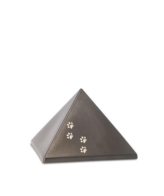 Kleine Piramide Urn Chocolade Vier Pootjes (0.5 liter)