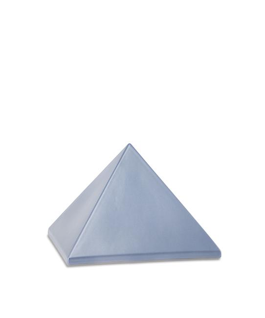 Kleine Dieren Piramide Urn Staalkleurig (0.5 liter)