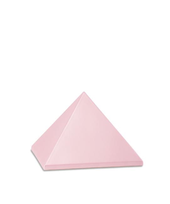 Kleine Piramide Urn Roze (0.5 liter)