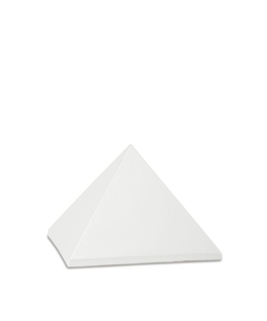 Kleine Piramide Urn Parelmoer (0.5 liter)