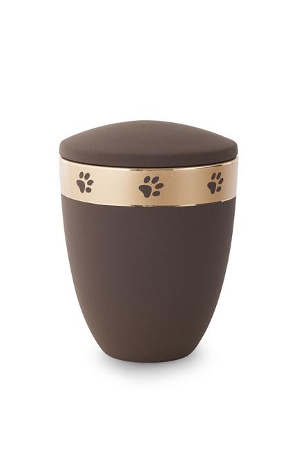 Middelgrote Dieren Urn Koffiekleurig (1.5 liter)