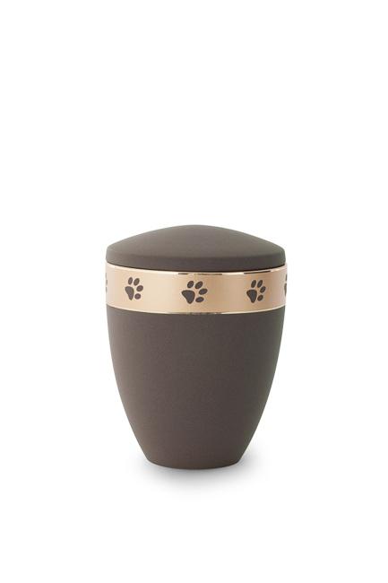 Kleine Dieren Urn Koffiekleurig (0.5 liter)