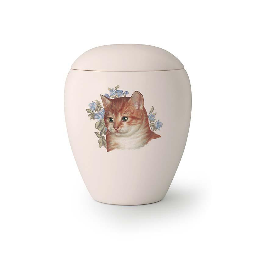 Mini Katten Urn Sjonny (0.15 liter)