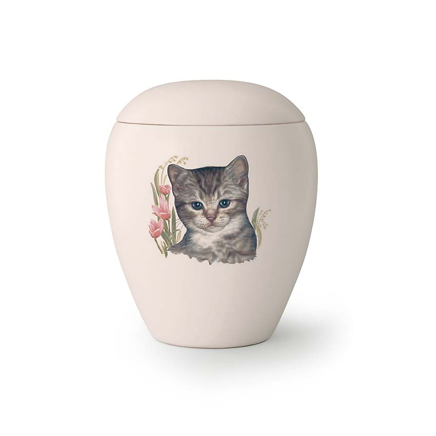 Mini Katten Urn Sammy (0.15 liter)