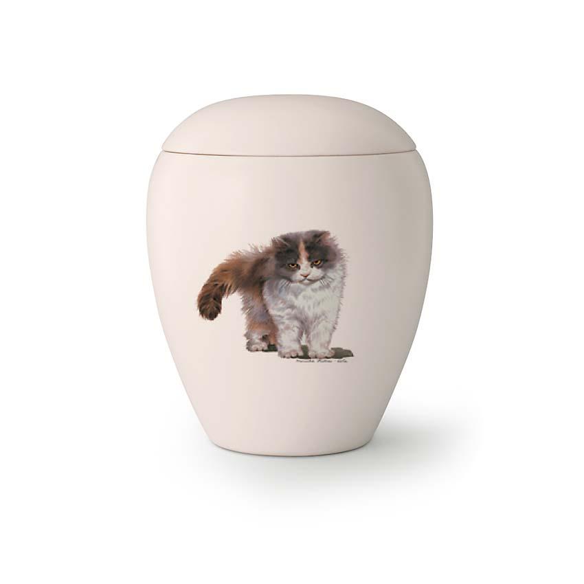 Mini Katten Urn Sjaantje (0.15 liter)