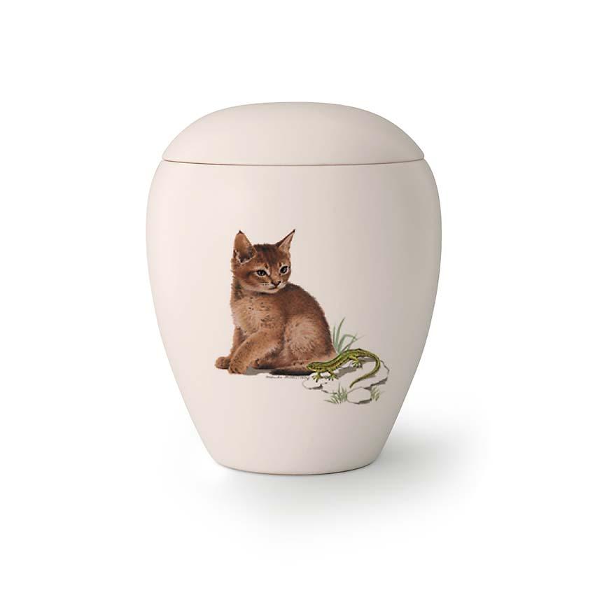 Mini Katten Urn Lola (0.15 liter)
