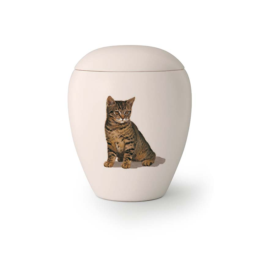 Mini Katten Urn Poekie (0.15 liter)