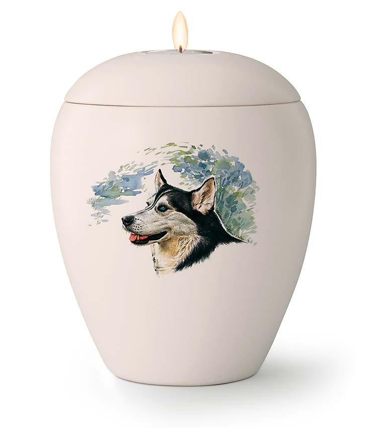 Middelgrote Honden Urn Husky (1.5 liter)