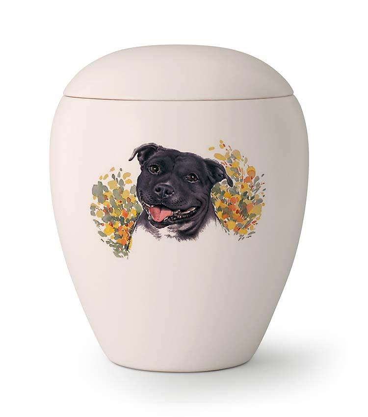 Middelgrote Honden Urn Staffordshire Bulterrier (1.5 liter)