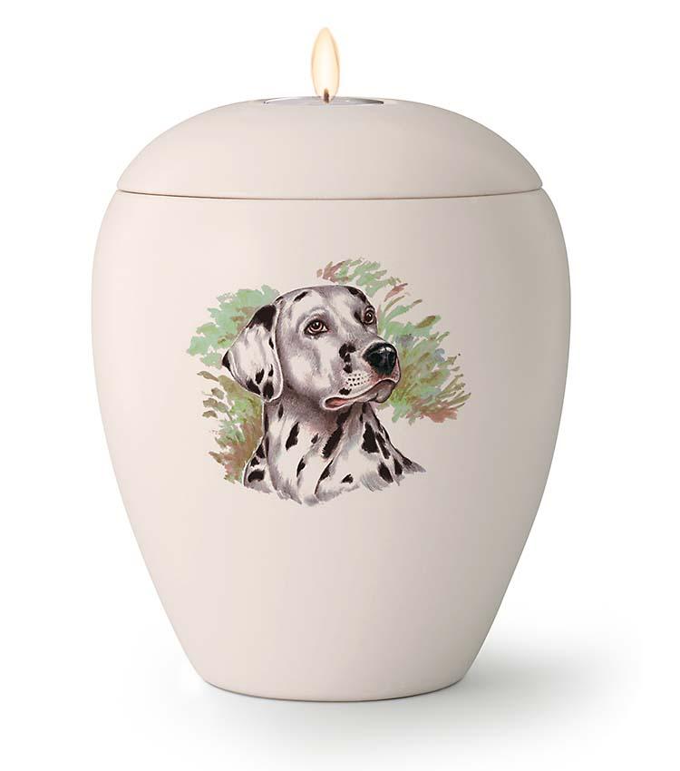 Kaarshouder Urn Dalmatier (1.5 liter)