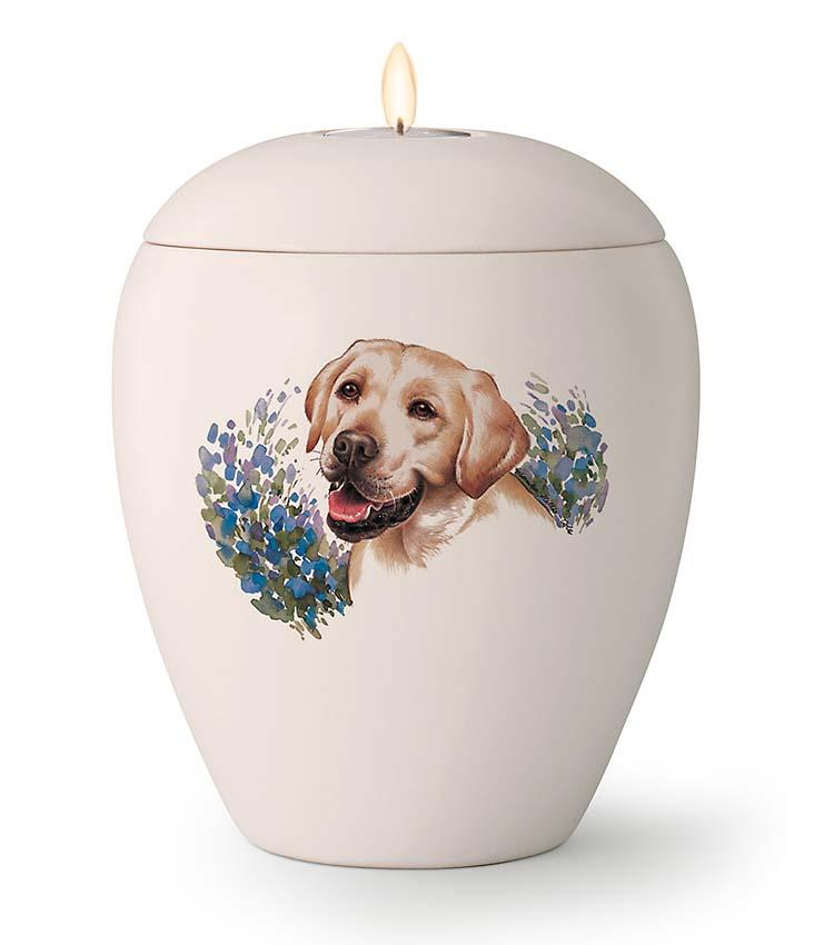 Kaarshouder Urn Labrador (1.5 liter)