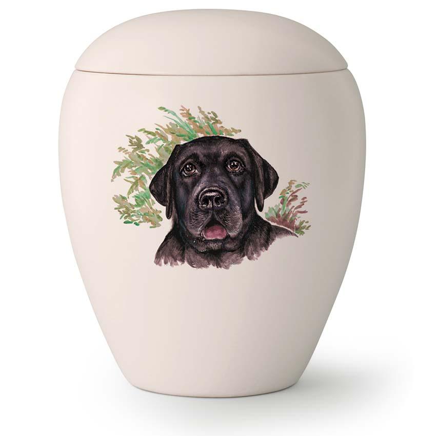 Grote Honden Urn Zwarte Labrador (2.8 liter)