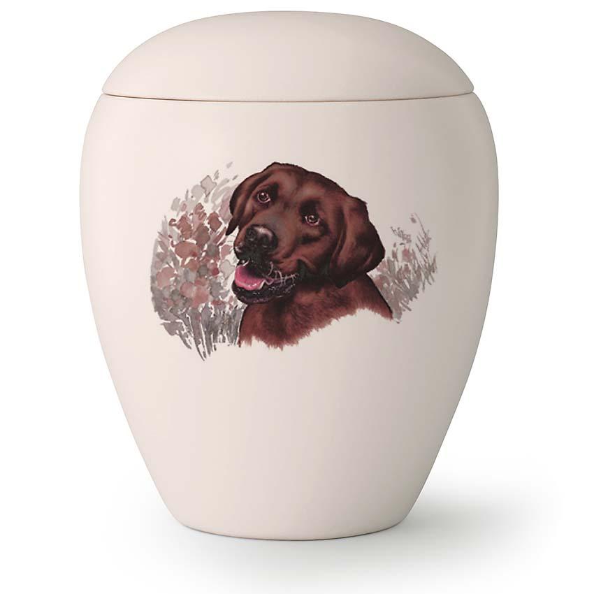Grote Honden Urn Bruine Labrador (2.8 liter)