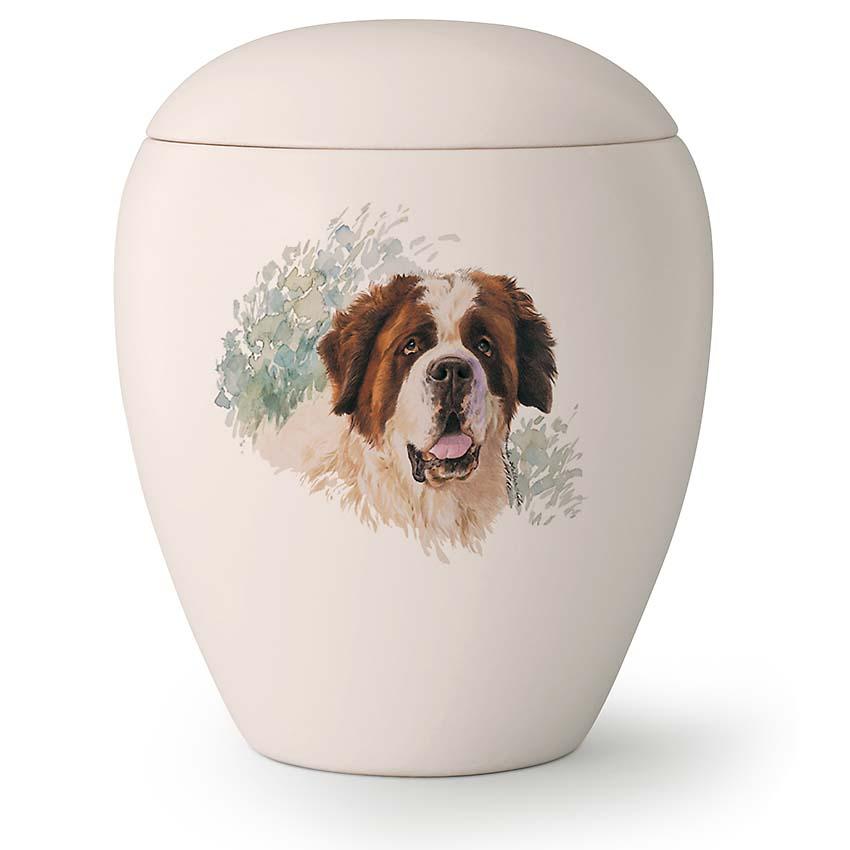 Grote Honden Urn Sint Bernard (2.8 liter)
