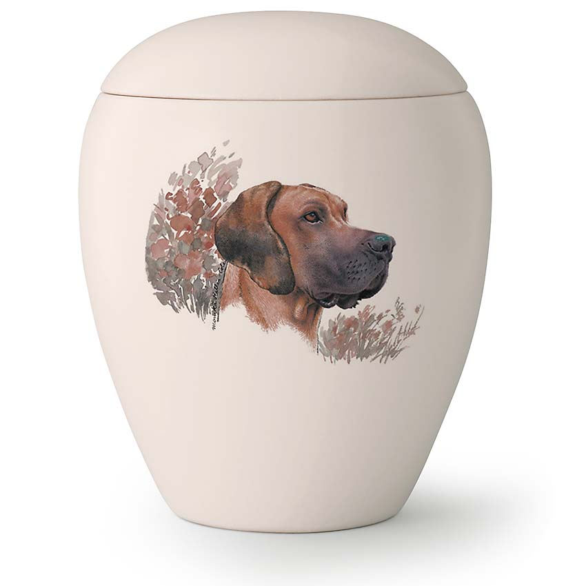 Grote Honden Urn Deense Dog Hangende Oren (2.8 liter)