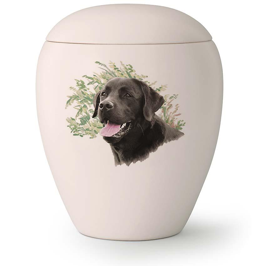 Grote Honden Urn Hijgende Labrador (2.8 liter)
