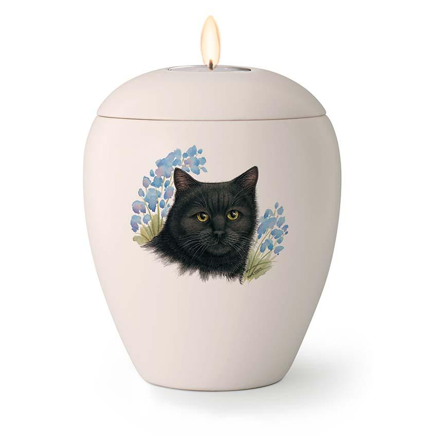 Kleine Katten Urn Balou (0.5 liter)