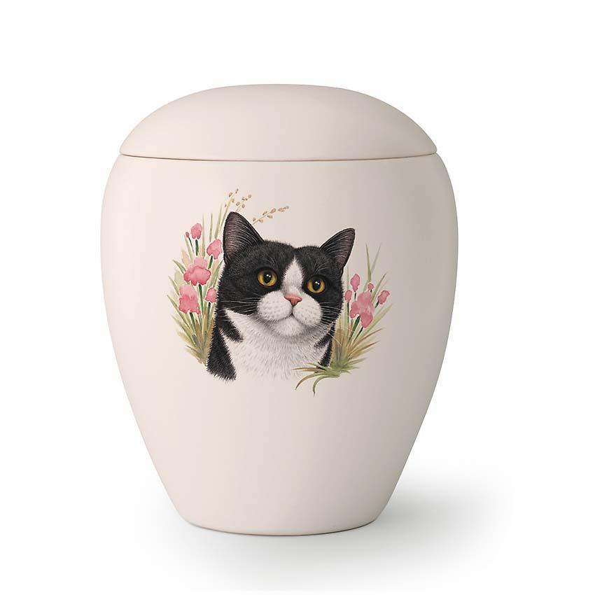 Kleine Katten Urn Misty (0.5 liter)