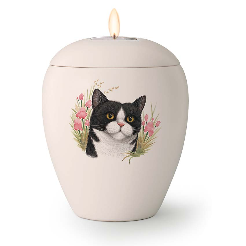 Kaarshouder Katten Urn Misty (0.5 liter)