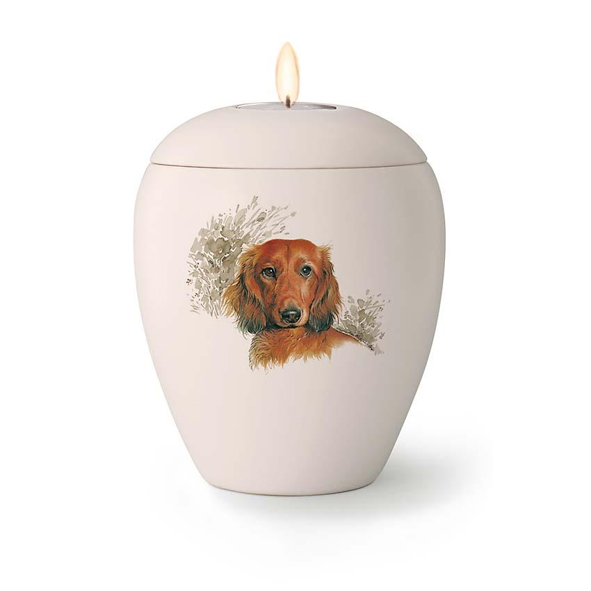 Kleine Honden Urn Teckel (0.5 liter)