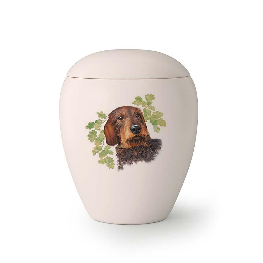 Kleine Honden Urn Ruigharige Teckel (0.5 liter)
