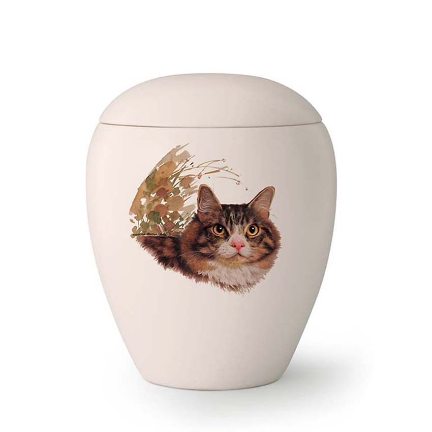 Kleine Katten Urn Luna (0.5 liter)