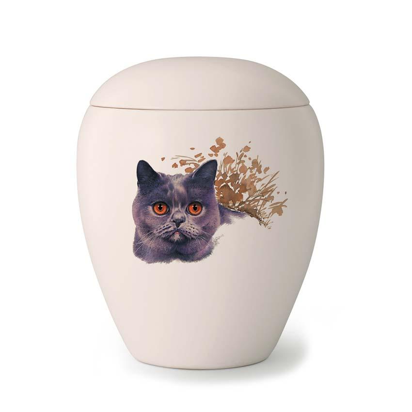 Kleine Katten Urn Joep (0.5 liter)