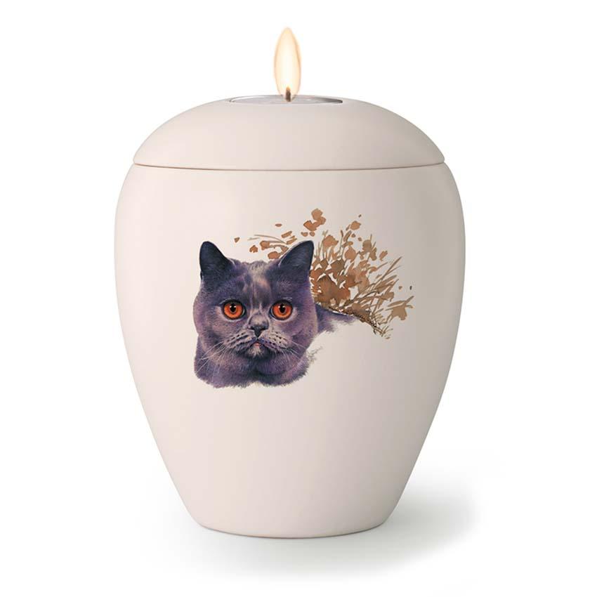 Kaarshouder Katten Urn Joep (0.5 liter)