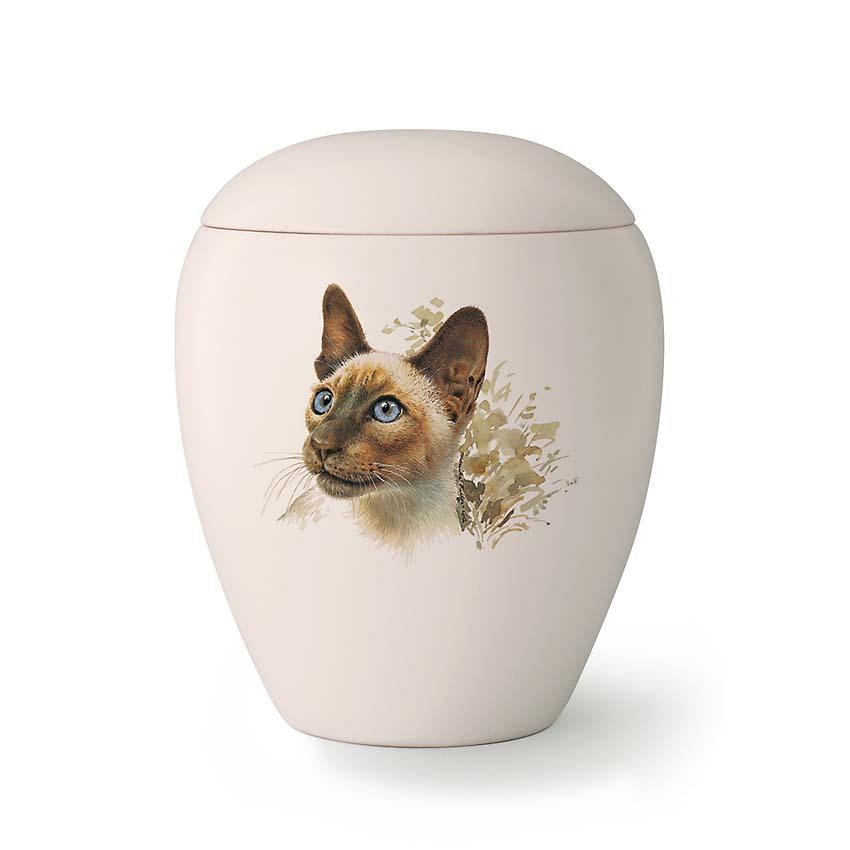 Kleine Katten Urn Tommy (0.5 liter)