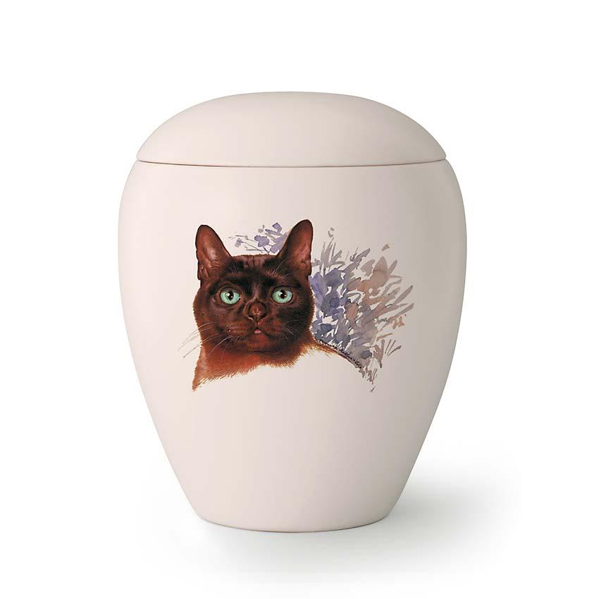 Kleine Katten Urn Felix (0.5 liter)