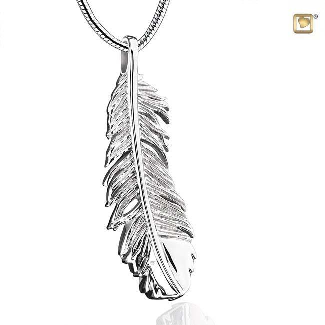 Ashanger Zilveren Veertje inclusief Collier