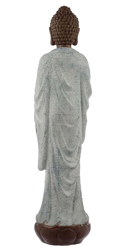 Extra Grote Vrede Buddha Urn Turkoois (ca. 6 liter)