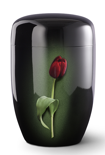 Design Urn Rode Tulp (4 liter)