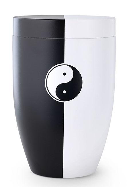Zwartwitte Design Urn Yin Yang (4 liter)