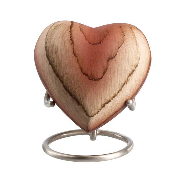 Elegance Hart Urn Beige Woodlook (0.1 liter)