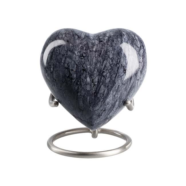 Elegance Hart Dierenurn Mass Blue Granit Look  (0.1 liter)